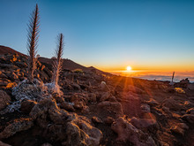 Sunset At The Top Of Haleakala...