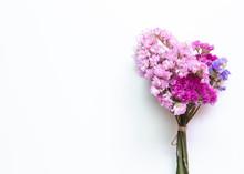 Pink Purple Statice Flowers Bo...