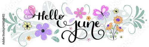 Fotografia, Obraz Hello June