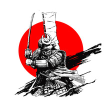 Samurai Character Illustration