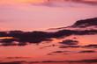 Leinwandbild Motiv evening sky at sunset as a background