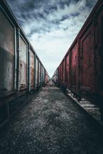 Stare, Towarowe Wagony Kolejow...