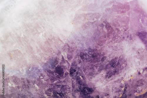 Arrière plan texture d'une pierre semi précieuse améthyste Wallpaper Mural