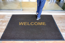 A Welcome Mat At The Entrance ...
