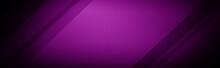 Dark Purple Wide Banner Backgr...