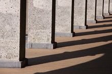 Part Of A Row Of Pillars In Th...