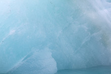 Antarctic. Clear Ice Close-up ...