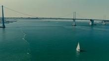 A Sailboat Traverses Through T...