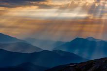 Alba Sulle Alpi Liguri
