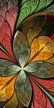 Multicolored Beautiful Fractal...