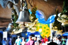 Bells In A Hindu Temple