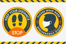 Yellow Round Sticker For Print...