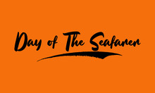 Day Of The Seafarer Calligraph...