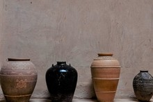 Large Antique Traditional Clay...