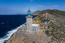 Lighthouse At Cape Tainaron Li...