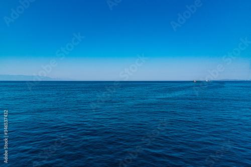 Skyline of the sea and sky Fototapete