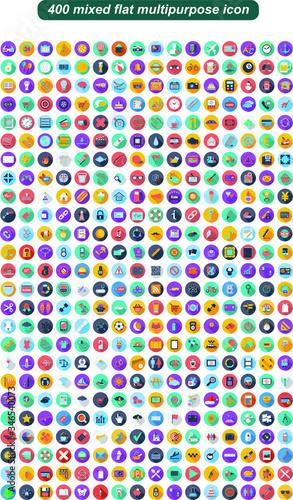 Mixed icon set for multipurpose Slika na platnu