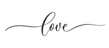 Love -  Typography Lettering Q...
