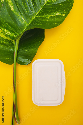 Photo Box bagasse for container food
