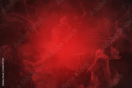Obraz na plátne smoke red abstract background