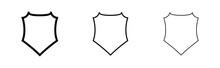 Shield Icon ( Stroke Weight Ex...