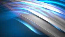 Creative Fluid Wave Lines Abst...