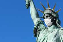 Statue Of Liberty In A Medical...