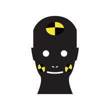 Crash Test Dummy Vector Icon