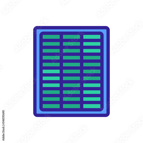 aerosol home air purifier icon vector Canvas Print