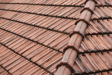 Old Roof Tiles On The Roof Of ...