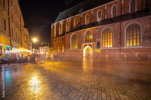 Fototapeta Duch starego miasta obraz