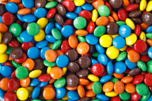 Smarties As A Background