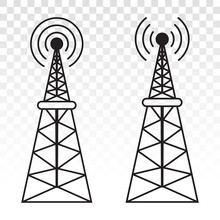 Radio Waves Tower / Mast Radio...