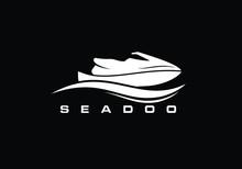 Sea-doo Logo Sign Symbol, Wave...