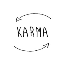 Karma Icon Vector Illustration