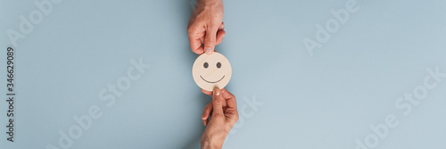 Fototapeta Customer satisfaction conceptual image obraz