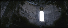 Arch Window In Stone Building