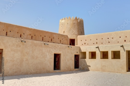 Fort en Arabie (Qatar) Canvas Print