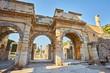 Details of Celsus Library, Ephesus Turkey
