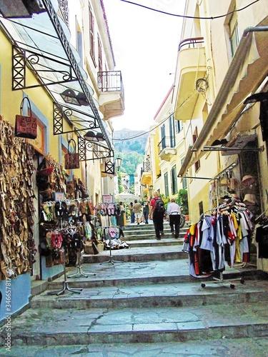 Market Stalls In Alley Amidst Buildings © karen benson/EyeEm