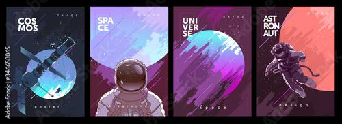 Valokuva A set of vector illustrations