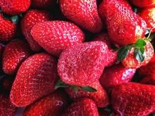 Full Frame Image Of Strawberries