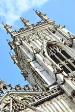 Low Angle View Of York Minster