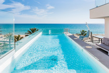 Pool And Sea Landscape In Majo...