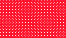 Abstract Red Polka Dot Backgro...
