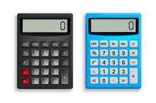 Calculator Vector Set. Office ...