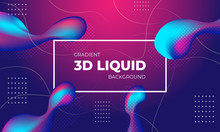 3D Liquid Abstract Technology ...