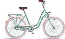 Vintage Ladies Bicycle With Wi...