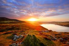 Port Erin Sonnenaufgang