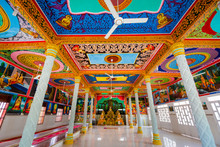 Beautiful Khmer Temple In Mekong Delta